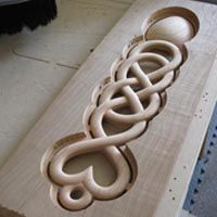 Love Spoon carved with cnc router. Cnc Router, Arduino Cnc, Router Projects, Wood Projects, Cnc Woodworking, Woodworking Projects, Hobby Electronics Store, Cnc Software, Hobby Cnc