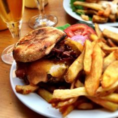 tasty burger, US style