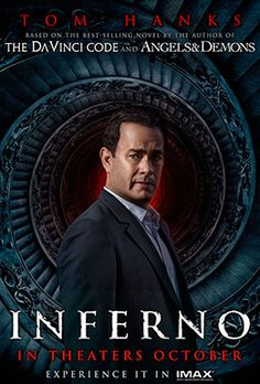 Academy Award® winner Ron Howard returns to direct the latest bestseller in Dan Brown's (Da Vinci Code) billion-dollar Robert Langdon series, Inferno, which finds the famous symbologist (again played by Tom Hanks) on a trail of clues tied to the great Dante himself. When Langdon wakes up in an Italian hospital with amnesia, he teams up with Sienna Brooks (Felicity Jones), a doctor he hopes will help him recover his memories. Together, they race across Europe and against the clock to stop a…