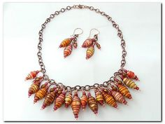 how to make paper beads - Google Search