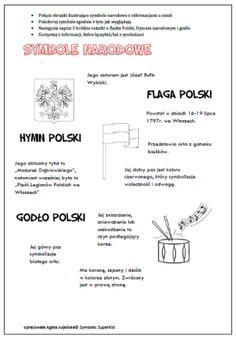 symbole-notatki Poland History, Polish Language, Pin On, Diy And Crafts, Kindergarten, Advice, Classroom, Education, School Ideas