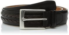 Allen Edmonds Men's Alcott Ave Belt, Black Brown, 36 ** Read more reviews of the product by visiting the link on the image.