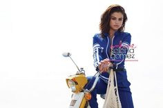 Selena Gomez x InStyle 2017 Selena Gomez Background, Selena Gomez Images, Selena Gomez Photoshoot, Adidas Jacket, Bomber Jacket, Alex Russo, Queen Of Everything, Moving To Los Angeles, Instyle Magazine