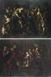 Davide e Abigail; e Ester e Assuero
