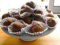 As receitas lá de casa: Bolinhas de bolacha e manteiga de amendoim