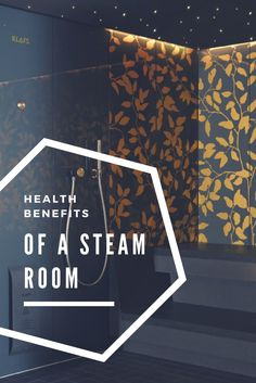 Find out more about the health benefits of a steam room here! #klafs #blog #steamroom #germanquality #steam #design #health