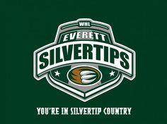 Everett Silvertips Logo | Everett Silvertips Hockey Club -logo | My kinda life. | Pinterest
