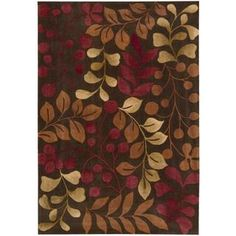 @Overstock - Add color and visual texture to any room in your home with this hand-tufted floral rug. This beautifully crafted rug features a contemporary floral design done in lush shades of red, beige, brown, and ivory that will complement your decor.http://www.overstock.com/Home-Garden/Hand-tufted-Chocolate-Cosmopolitan-Rug-73-x-93/5659854/product.html?CID=214117 $259.19
