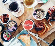 Those were the days, my friend 🥐 #breakfast #memories