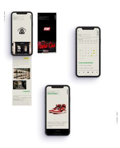 Sleek and Minimalist App Design Concept for Shoeciety