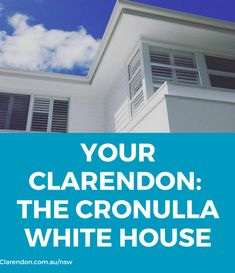 The Clarendon Homes Cronulla White House - doing project homes, differently. See inside their beautiful, unique know down rebuild home.