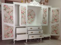 ateliando customiza o de m veis antigos do lixo ao luxo vers o guarda roupa antigo. Black Bedroom Furniture Sets. Home Design Ideas