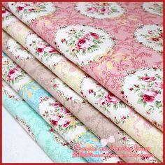 hot sale !  5 Pieces/lot 50x72cm Assorted Hemp cotton Fabric Flower Series  Lovely patchwork quilts Tilda Cloth