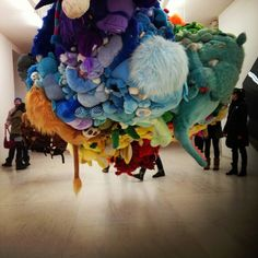 Ps 1 MoMA - Mike Kelley Show Instagram: @theshinysquirrel