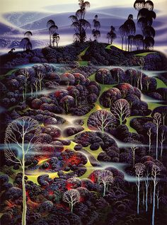 Eyvind Earle Solemn-Solitude-1995