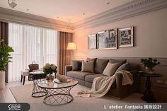 우아하고 클래식한 디자인은 아주 큰 평수에나 어울리는 인테리어라고 생각하실 분이 많이 계실텐데요 L′atelier Fantasia(繽紛設計) 스튜디오가 리모델링한 대만의 타이페이 시에 있는 34평 아파트 인테리어를 보시면 다시 생각해 보시게 될 거에요 엘레강스하고 차분한 라인, 뉴트럴톤의 컬러, 화려한듯 클래식한 아름다움이 있는 동시에 모던 스타일리시하게 15년 이상된 아파트를 리모델링한 인테리어 입니다 ▶ FabD(팹디)..