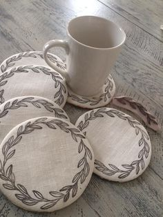 Iron Orchid Designs, Curiosity Shop, Fabric Crafts, Upcycle, Coasters, Fabrics, Projects, Handmade, Inspiration