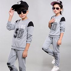 ODFAPP Adorable boys clothing set girls clothing children sport suit girls clothes suits for boys tracksuit autumn 2016 kids clothes child set Dark Grey12T Cool * Review more details @ http://www.amazon.com/gp/product/B01LWNO88G/?tag=christmas3638-20&prw=011016124137