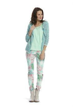 Conplete outfit Miss Etam; Frisse romantiek.