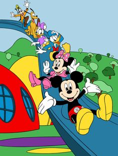 Click This Image To Show The Full Size Version. Mickey Mouse BedroomMickey  Mouse ClubhouseWall MuralsClubhousesMasonsBedroom ... Part 57