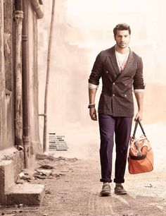 Varun Dhawan on GQ Magazine, India Edition, May 2013 Issue