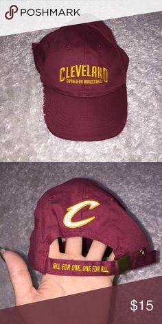 9f8ea533731e6 Cleveland Cavs Hat NBA 2016 champions! Size is one size