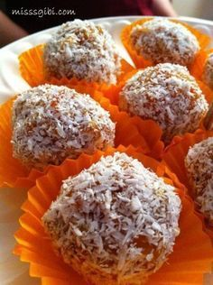 carrot balls - Anna Home Low Carb Cupcakes, Fall Dinner Recipes, Healthy Dinner Recipes, No Gluten Diet, Mousse Au Chocolat Torte, Cake Recipes, Snack Recipes, Chocolate Pies, Candy