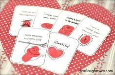 """Pin for Later: 50+ Free Valentine's Printable Cards That Aren't Corny Thumbprint Cards Printables Show """"thumbody"""" your love with these printables. Since every thumbprint is unique, you know you'll be giving a one-of-a-kind card."""