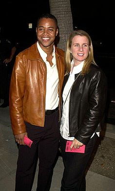 Sara Gooding, (m. Interracial Celebrity Couples, Interracial Family, Interracial Marriage, Hollywood Fashion, Hollywood Style, Cuba, Famous Couples, Celebs, Celebrities