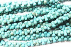 A personal favorite from my Etsy shop https://www.etsy.com/ca/listing/485355564/turquoise-howlite-beads7mm-x-14mm-full