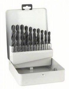 Set di punte per metallo HSS-R, DIN 338 in Cassetta BOSCH - Diametro da 1 mm a 13 mm #modellismo #utensili #elettroutensili #bricolage #hobby #faidate