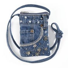 Embellished Denim Bag - Best Selling Gifts, Clothing, Accessories, Jewelry and…