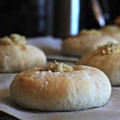 Homemade Bialy Recipe- soft, chewy, breakfast rolls filled with sweet onions! Better than bagels!