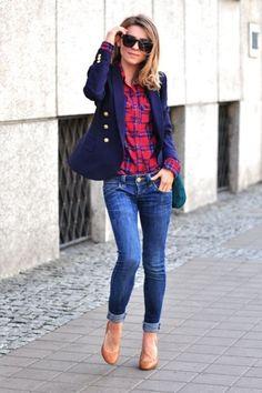 Look calça jeans III