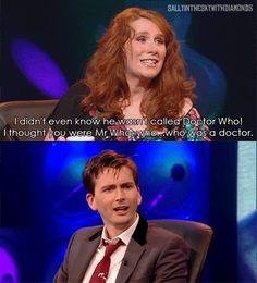 Hahaha, Catherine Tate!