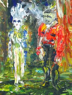 The Princess of the Circus - Jack Butler Yeats Swan Painting, Painting Words, Jack B, Irish Art, Great Paintings, Print Pictures, Contemporary Paintings, Impressionist, Great Artists