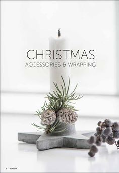 CHRISTMAS ACCESSORIES & WRAPPING