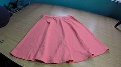 Falda semicircular