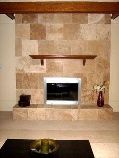 High Resolution Fireplace Ceramic Tile | Home Improvement ...