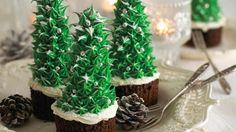 Annabel Karmel's Christmas Tree cakes