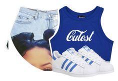 ITS HOT AF OUTSIDE by jtia on Polyvore featuring polyvore fashion style adidas clothing