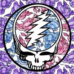 nice and flowery with mildly offensive genitalia if you stare too long! Grateful Dead Tattoo, Grateful Dead Image, Grateful Dead Poster, Grateful Dead Bears, Grateful Dead Wallpaper, Hippie Art, Hippie Vibes, Music Is My Escape, Forever Grateful