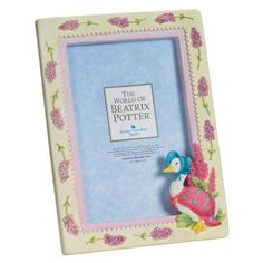 Jemima Puddle-duck - Jemima Puddle-duck - 18cm Photo Frame. Product code: A2732