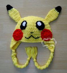 Touca Pikachu 1 - Anime Pokémon