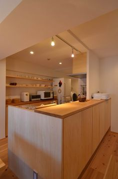 Kitchen Bar Design, Home Decor Kitchen, Kitchen Interior, Home Kitchens, Ceiling Design Living Room, Interior Design Living Room, Muji Home, Luxury Dining Room, My Home Design