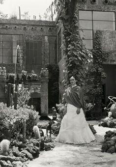Frida Kahlo - photo Gisèle Freund 1950 / 1952