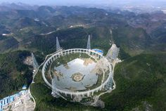China's new FAST radio telescope, now the world's largest will be able to look faster and further than past searches for extraterrestrial intelligence.
