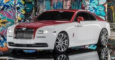 Best Auto Tuning Style  :   Illustration   Description   Rolls-Royce Wraith Dips In Candy Apple Red With Forgiato Alloys