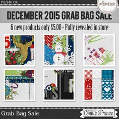 December 2015 Grab Bag - Tinsel Town