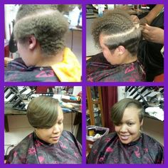 Natural hair... Cut and style #team no relaxer